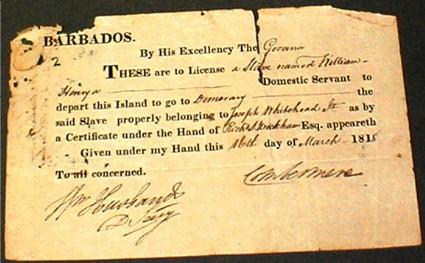 slave contract