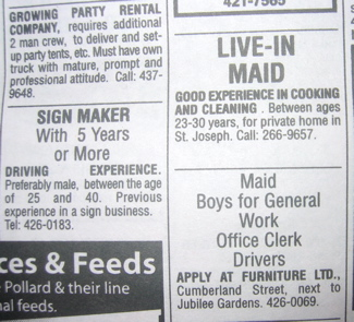 newspaper sections and terms