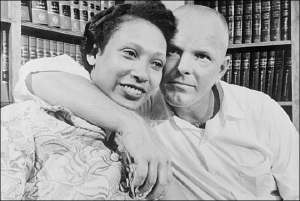 Mr. & Mrs Loving - An appropriate surname for the interracial couple who challenged the bigots in 1958