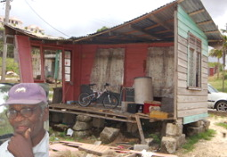 Theophilus Barrow's Home AFTER Judy Thomas Approved Payment For Rebuilding!