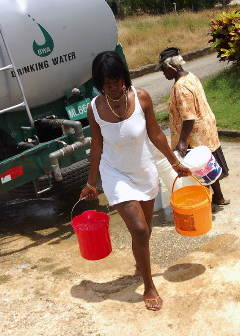 Roshell Small Hauls Water Like Her Slave Ancestors Before Her