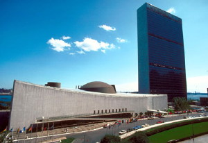 United Nations Building New York City