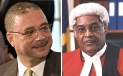 David Thompson, David Simmons - Two Barbados Politicians