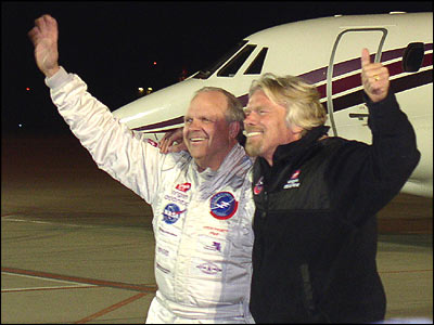 Steve Fossett & Sir Richard Branson - Aviators Before All Else