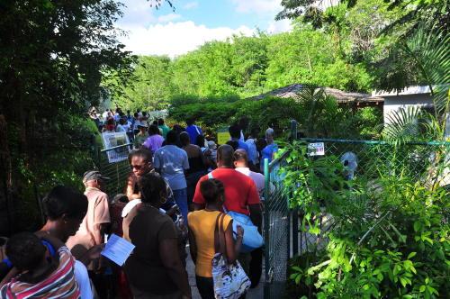 Eight Thousand Visited Graeme Hall Nature Sanctuary Last Sunday