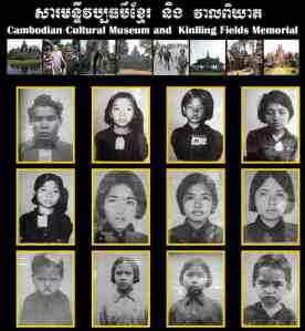Cambodian Children Murdered By Communists