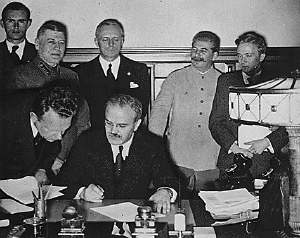 German-Russian Pact Divides Up Poland - August 24, 1939