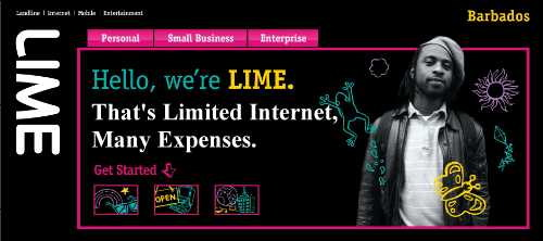 LIME by Cable & Wireless: Limited Internet, Many Expenses