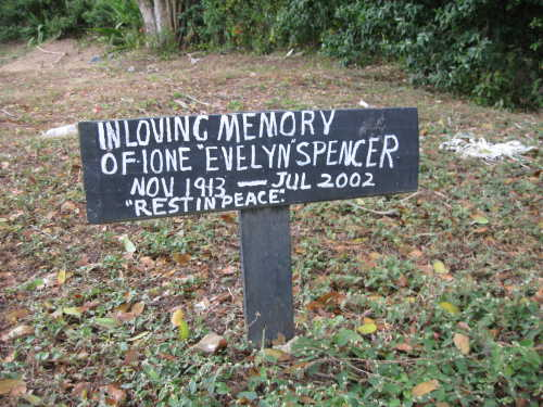 Ione Evelyn Spencer - A Kind Woman Who Was Much Loved