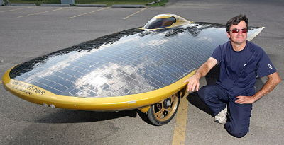 Barbados Solar Car Survives RCMP Traffic Cop