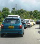 barbados traffic