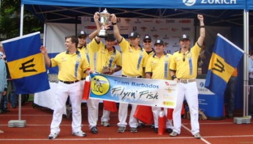 Segway Polo World Champions - Barbados Flyin' Fish