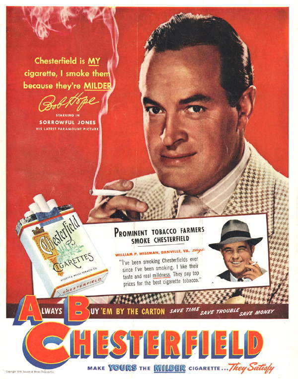 Cigarette Advertisements Banned From American Television ...