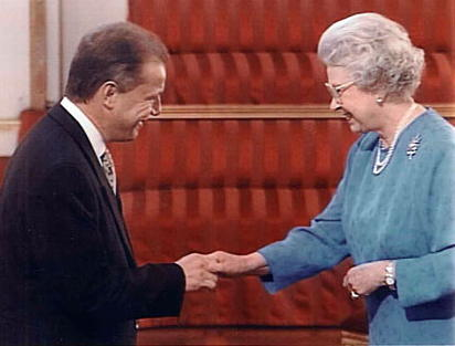 "Year 2000: Her Majesty awards MBE to Jonathan Danos ""for services to export in Central and South America"""