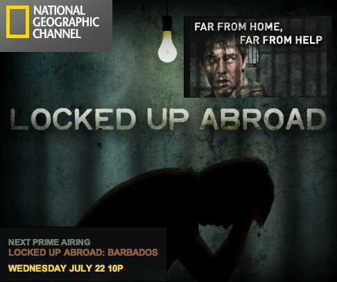 Logo: Locked Up Abroad - National Geographic