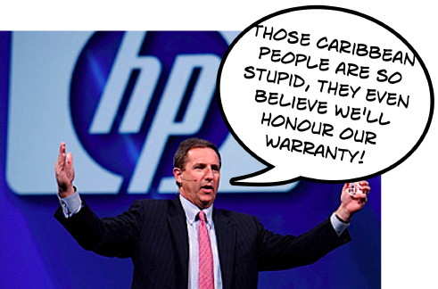 Mark Hurd HP Warranty