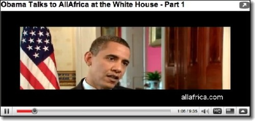Obama Africa Policy