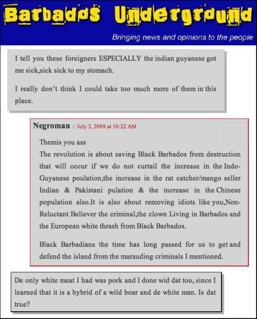 Barbados Racism A6a