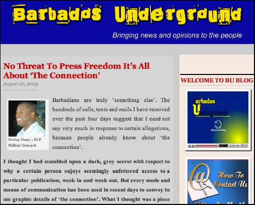 Barbados Underground Racist