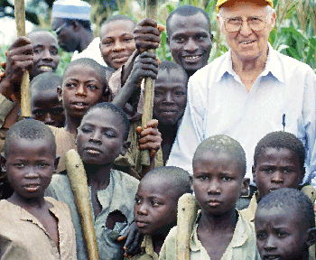 Norman Borlaug saved between 200 million and 1 billion people, depending on the math.