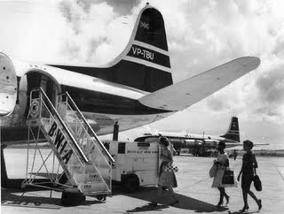 Seawell airport Vickers Viscount