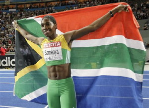 ... Semenya 'hermaphrodite' – both male and female organs. What now