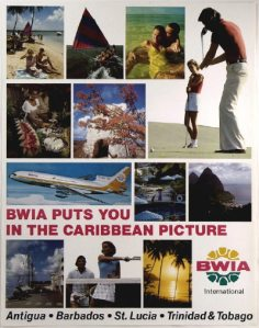 BWIA Poster 1970
