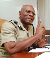 Cheerful Commissioner Dottin comments on the recent tourist robberies