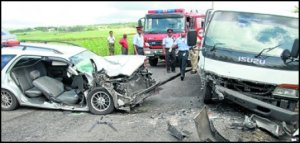 Barbados Road Accident