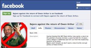 Owen Arthur Facebook