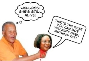Owen Arthur Mia Mottley fight