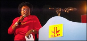 Mia Mottley shows off her new body: almost a babe!