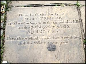 Mary Piggott Barbados