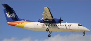 DHC-8-300 Dash 8 LIAT V2-LGI