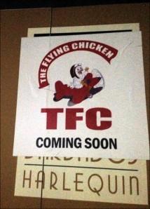 Harlequin Barbados Flying Chicken