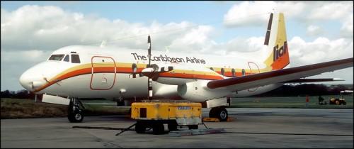 LIAT Airlines 1985 HS748