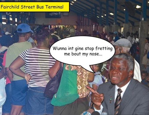 Barbados Bus terminal Freundel
