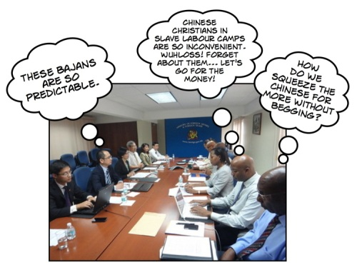 China Barbados Negotiations