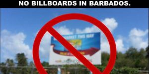 Barbados billboards