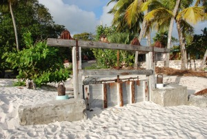 Barbados Graeme Hall Sluice Gate