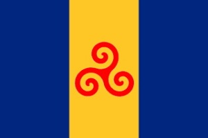 Barbados Red Legs Flag