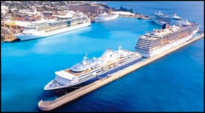 How many cruise ships are too many for Barbados?