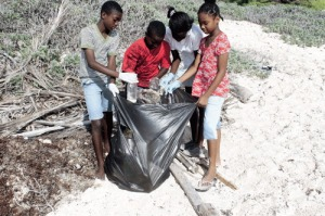 Barbados Beach Cleaning
