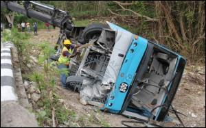 Barbados bus accident