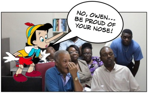 Owen Arthur Lied Barbados