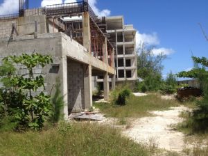 Abandoned Harlequin H Hotel is a testament to Barbados politicians' greed and incompetence.