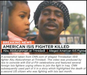 ISIS Trinidad Terrorist Muslim