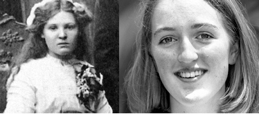 Alma Cowie, Katrina Dawson (r): murdered in Australia by foreign jihadists 100 years apart