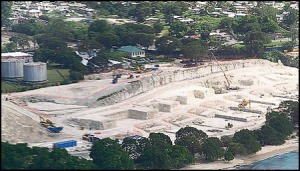 barbados four seasons construction