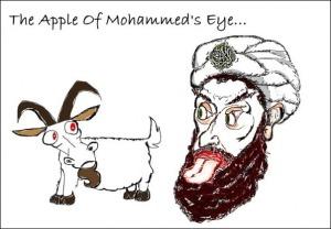 Mohammed Goat Cartoons